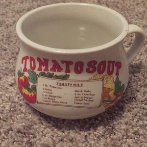 Other - Tomato Soup Recipe Mug